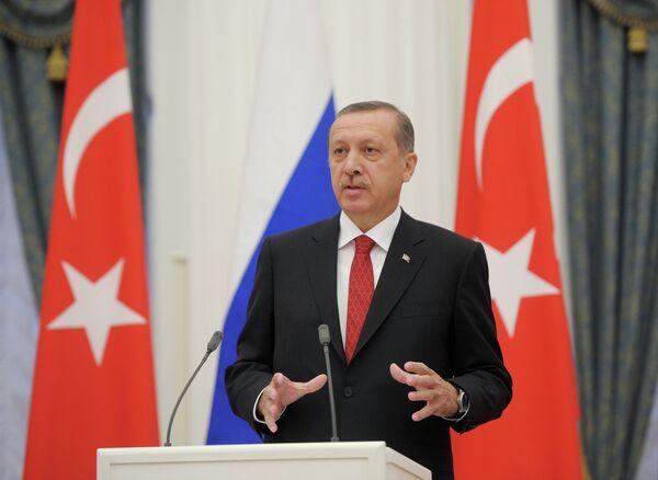 Primer ministro de Turquía, Recep Tayyip Erdogan - Sputnik Mundo