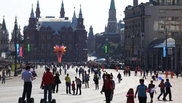 Los indicadores de satisfacción social de los rusos marcan récords - Sputnik Mundo