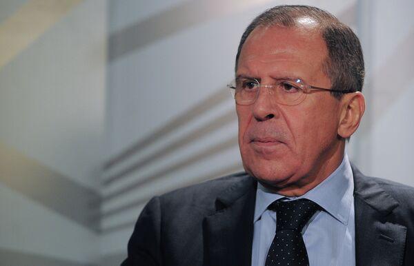 Lavrov dice que la dimisión de Asad es imposible - Sputnik Mundo