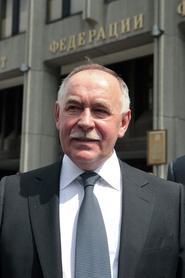 El director del Servicio Federal de Control de Drogas, Víctor Ivanov - Sputnik Mundo