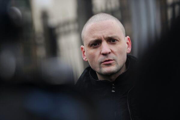 El coordinador del Frente de Izquierdas, Serguei Udaltsov - Sputnik Mundo