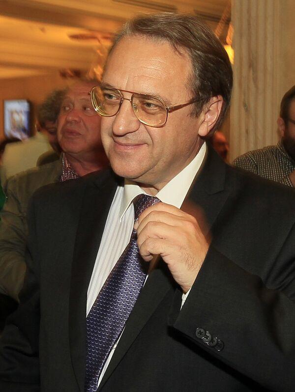 El viceministro de Exteriores de Rusia, Mijaíl Bogdánov - Sputnik Mundo