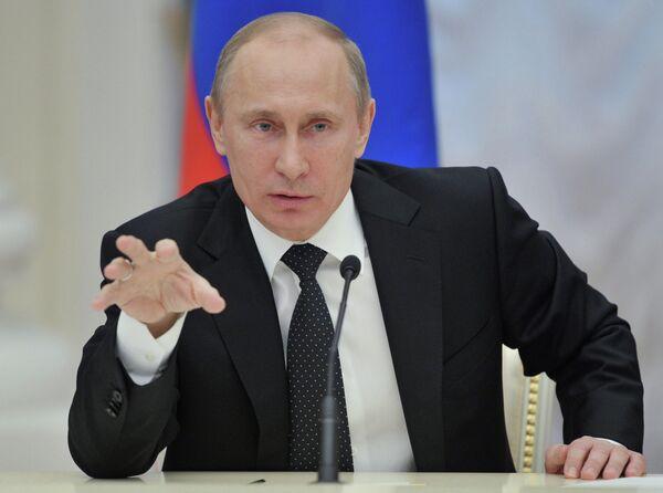 El presidente de Rusia Vladimir Putin - Sputnik Mundo