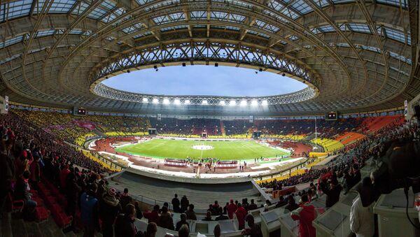 El estadio moscovita de Luzhniki acogerá la final del Mundial de fútbol 2018 - Sputnik Mundo