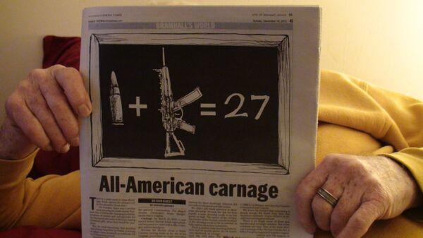Las ventas de armas aumentan en EEUU tras la matanza de Connecticut - Sputnik Mundo