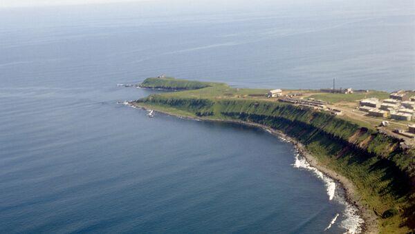 Isla Kunashir - Sputnik Mundo