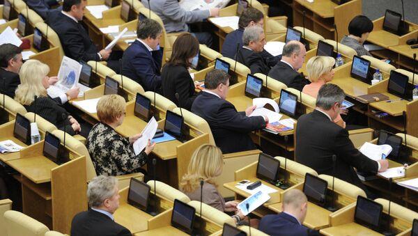"""Legisladores rusos proponen la etiqueta de """"agresor"""" para los países que sancionan a Moscú - Sputnik Mundo"""