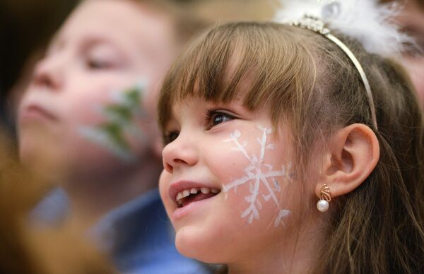La Fiesta del Año Nuevo en el Kremlin de Moscú - Sputnik Mundo