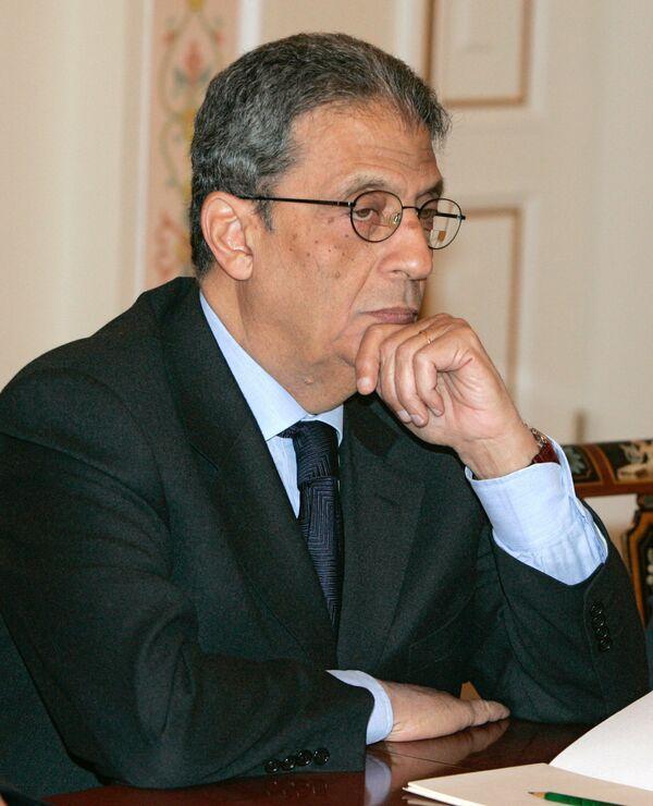 Amr Musa, ex secretario general de la Liga Árabe y presidente de Congreso Egipcio - Sputnik Mundo