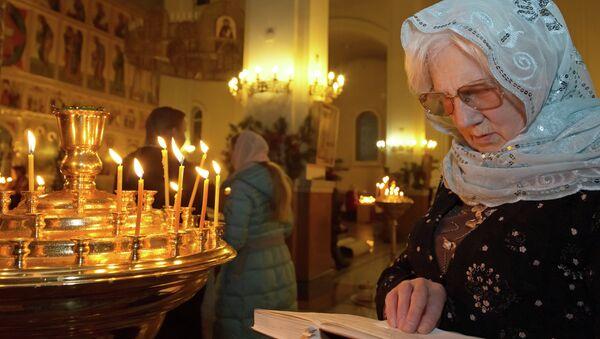 la Iglesia Ortodoxa Rusa - Sputnik Mundo