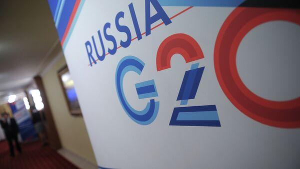 Rusia y el G20 - Sputnik Mundo