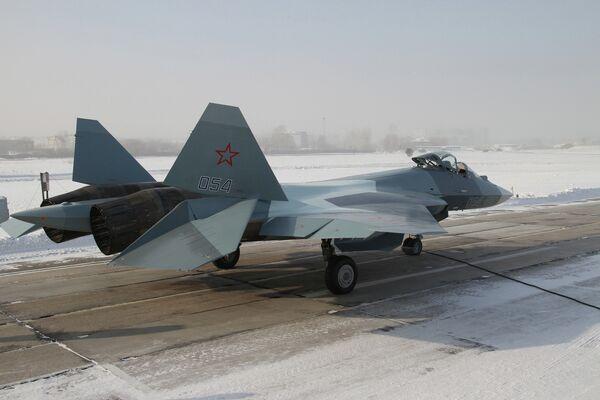 El caza de quinta generación T-50 (PAK FA) - Sputnik Mundo