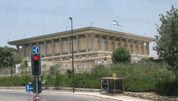 Knesset, Parlamento israelí - Sputnik Mundo