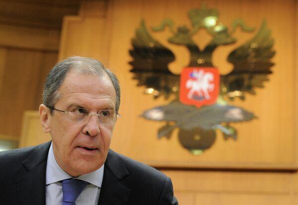 El canciller ruso Serguéi Lavrov - Sputnik Mundo