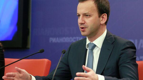 Arkadi Dvorkóvich, el vice primer ministro de Rusia - Sputnik Mundo