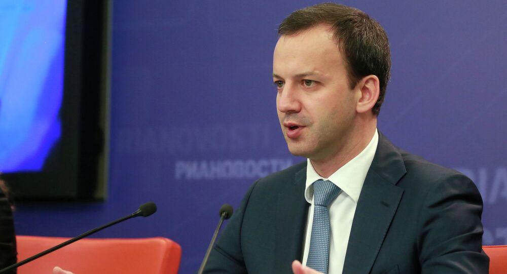 Arkadi Dvorkóvich, el vice primer ministro de Rusia