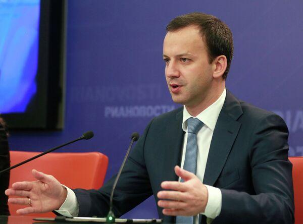 Arkadi Dvorkóvich, viceprimer ministro ruso - Sputnik Mundo