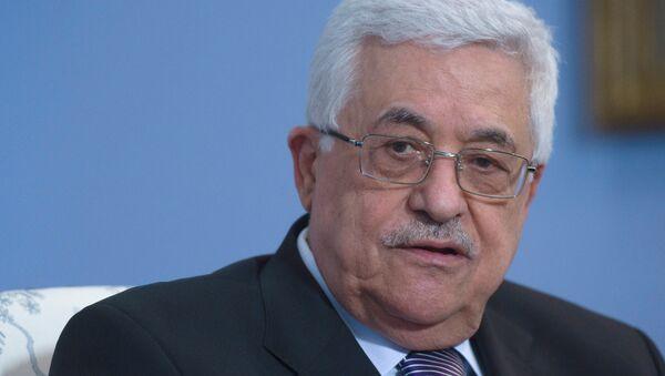 Abás solicita el ingreso de Palestina en varios organismos internacionales - Sputnik Mundo