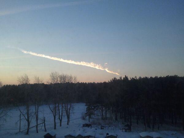 Una lluvia de meteoritos azota los Urales - Sputnik Mundo