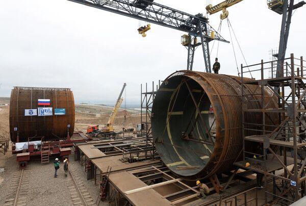 Planta hidroeléctrica Zagórskaya GAES-2 - Sputnik Mundo