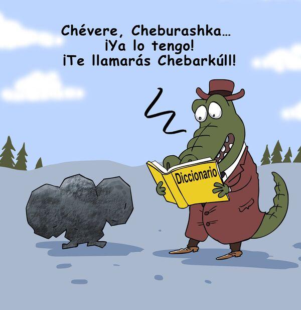 Meteorito, te llamaré Chebarkúl - Sputnik Mundo