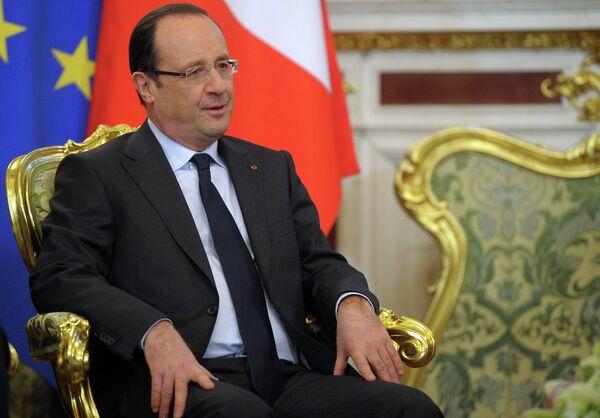 Presidente francés, François Hollande - Sputnik Mundo