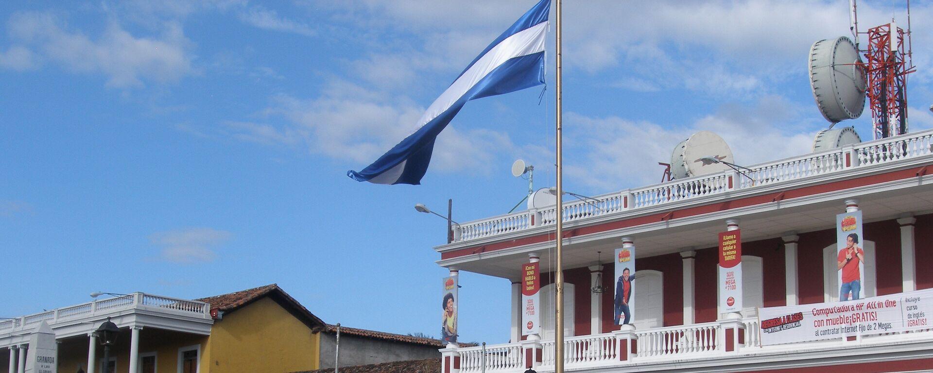 Bandera de Nicaragua  - Sputnik Mundo, 1920, 11.05.2021