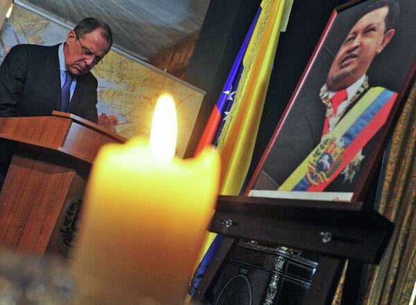 Lavrov: Hugo Chávez dio un nuevo impulso a las relaciones entre Rusia y América Latina - Sputnik Mundo