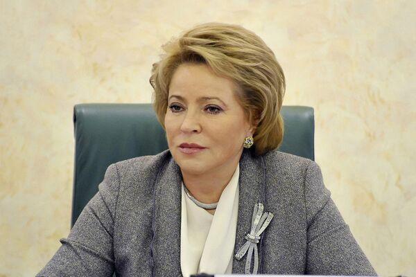 Valentina Matvienko, presidenta del Consejo de la Federación - Sputnik Mundo