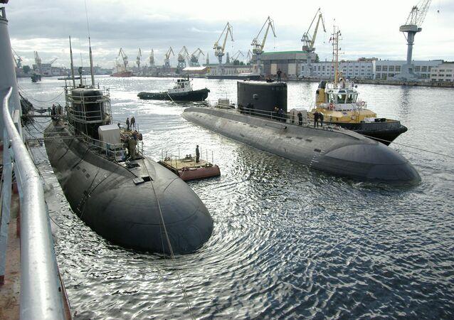 Submarino del proyecto 636