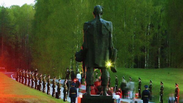 El complejo memorial de Jatín recuerda a las víctimas del nazismo en Bielorrusia - Sputnik Mundo