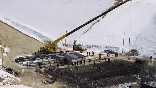 Construcción del cosmódromo Vostochni - Sputnik Mundo