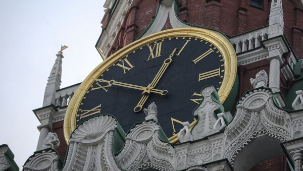 La torre del Salvador del Kremlin en Moscú - Sputnik Mundo