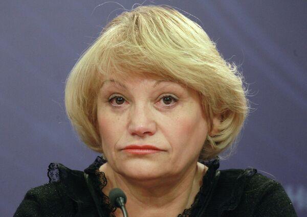 Lilia Shibánova, miembro del Consejo ruso para Derechos Humanos - Sputnik Mundo