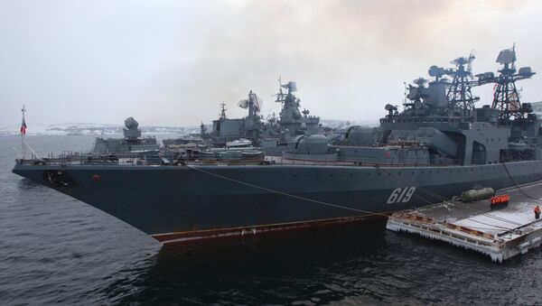 "Destructor antisubmarino ""Severomorsk"" - Sputnik Mundo"