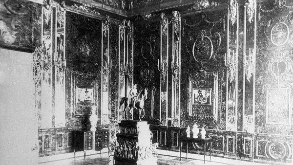 Fotografía de la Cámara de Ámbar hecha antes de la Segunda Guerra Mundial - Sputnik Mundo