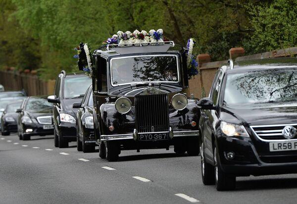 El magnate ruso Borís Berezovski, enterrado en Reino Unido - Sputnik Mundo