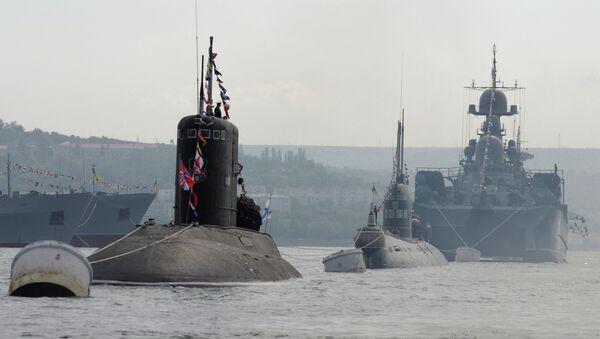 La escuadra rusa del Mediterráneo podrá combatir la piratería junto con la OTAN - Sputnik Mundo