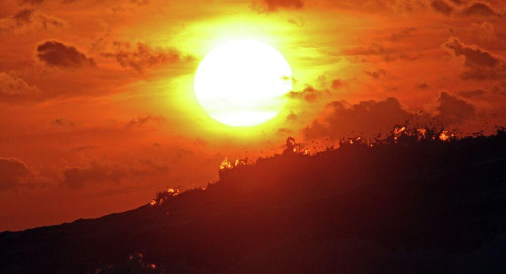 Sol (imagen referencial)