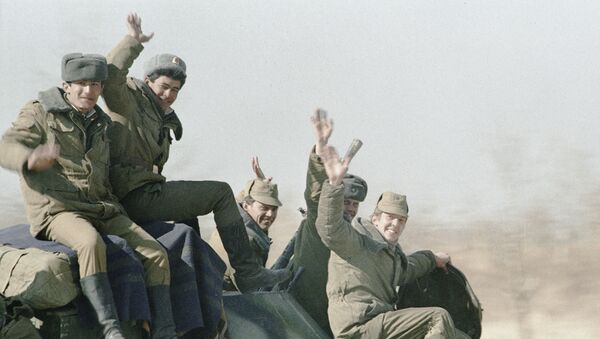 Soldados soviéticos en Afganistán - Sputnik Mundo