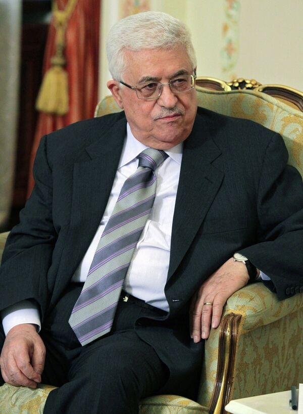 El líder de la Administración Nacional Palestina Mahmud Abás - Sputnik Mundo
