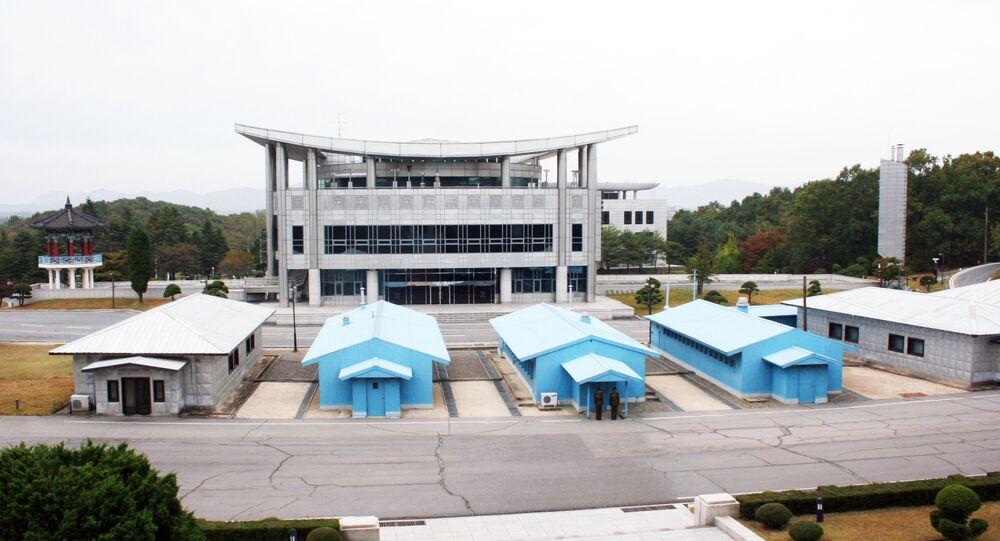 Frontera entre Corea del Norte y Corea del Sur