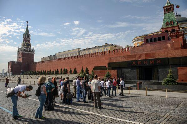 El mausoleo de Lenin reabre sus puertas tras obras - Sputnik Mundo