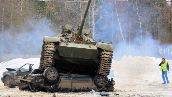 Танк T-55. Архив - Sputnik Mundo