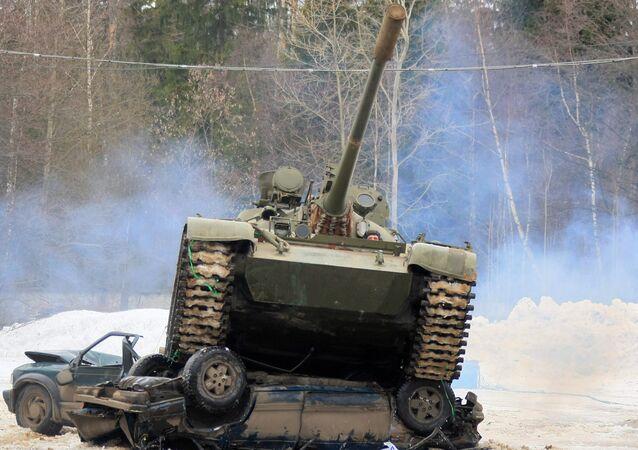Carro de combate T-55, foto archivo