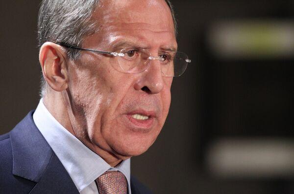 Ministro ruso de Asuntos Exteriores, Serguéi Lavrov - Sputnik Mundo