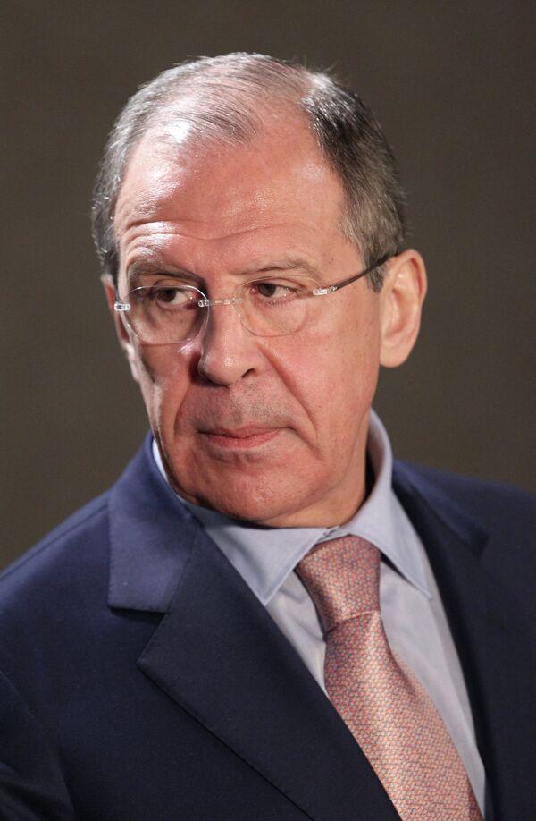 Ministro de Exteriores ruso, Serguei Lavrov - Sputnik Mundo