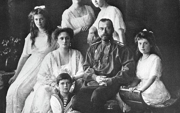 La familia del último zar, Nicolás II - Sputnik Mundo
