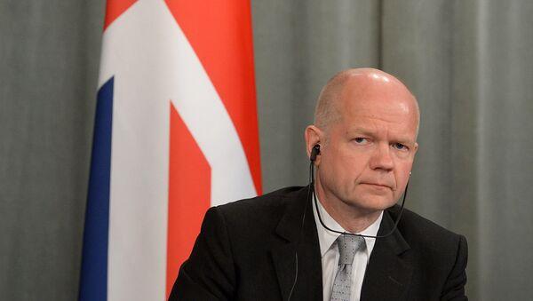 William Hague, presidente de la Cámara de los Comunes - Sputnik Mundo
