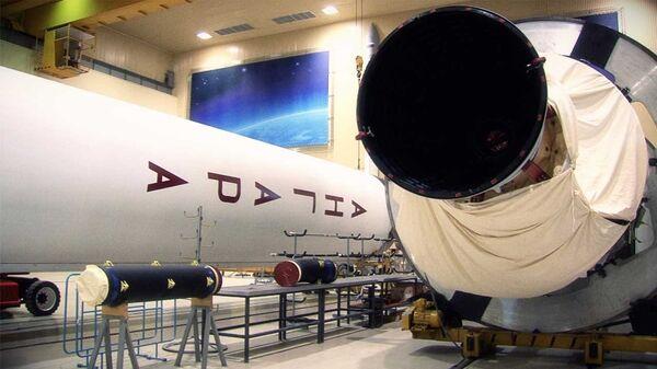 Cohete portador de carga pesada Angará A5 - Sputnik Mundo